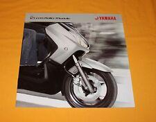 Yamaha 125 ccm Roller 2009 Prospekt Brochure Depliant Catalogue Prospetto