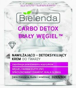 BIELENDA-WHITE-CARBON-detoxifying-Cream-diamond-powder-amp-white-clay-50ml