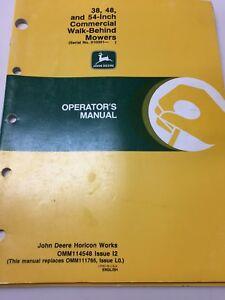 Business & Industrial Heavy Equipment Manuals & Books Walk Behind ...