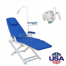 New Listingusa Dental Portable Simple Type Folding Chair With Rechargeable Led Oral Light