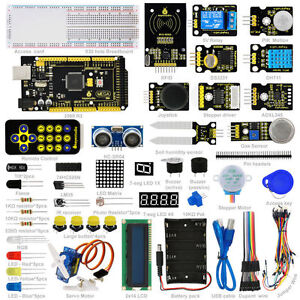 New Keyestudio Super Starter Learning Kit for Arduino With MEGA 2560R3 +...