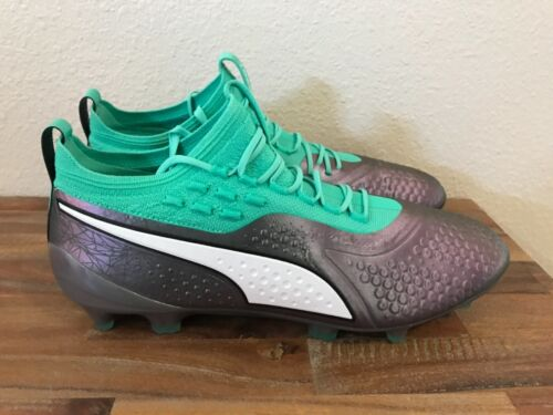 Puma One 1 Il éclairer Fixed Gear Soccer Crampons 104924-01 Hommes Sz 9-13 NEUF!!!
