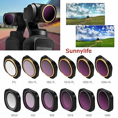 for Osmo Pocket Accessories 4 in 1 HD Slim ND8 /& ND16 /& CPL /& ND32 /& ND64 Lens Filter for DJI OSMO Pocket