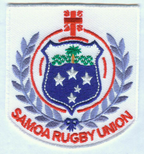 Samoa National Rugby Union Team Embroidered Patch