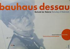 Plakat -  Bauhaus Dessau -  2007 - Werkstatt der Moderne