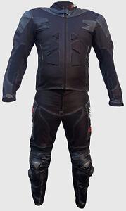 COMBINAISON-MOTO-EN-CUIR-IN-CORDURA-S-M-L-XL-2XL-3XL-2-partie-noir-protecteur-CE
