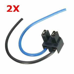 2x-H7-2-Pin-Headlight-Replacement-Repair-Bulb-Holder-Connector-Plug-Wire-Socket