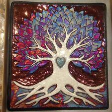 Tree of Life Wall art Raku Pottery NEW