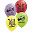"""The Incredibles Party Assorted Latex Balloons 12/"""" 6 Pcs//Bag"""