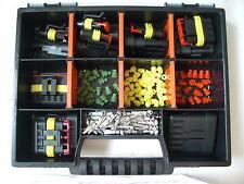 AMP Superseal Stecker 1-6-polig Mini-Starter-Set + Box KFZ LKW Boot,Motorrad