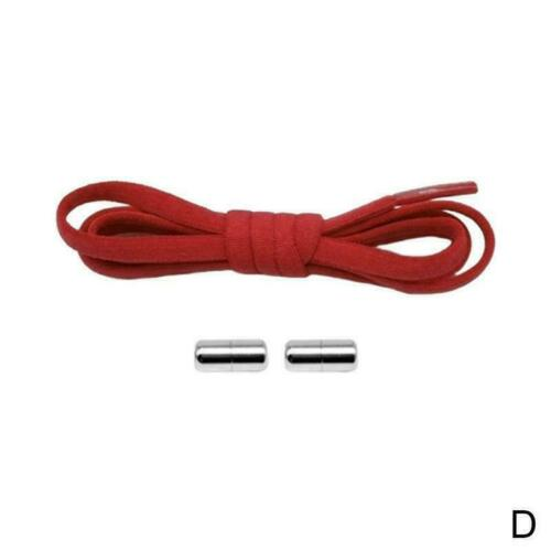 Elastic Silicone No Tie Lazy Shoe Laces Shoelaces Trainers Shoes Adult/&Kids P0S1