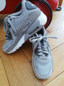 Details zu Nike Air Max Junge Mädchen, grau,Leopard Gr 36 Uk3