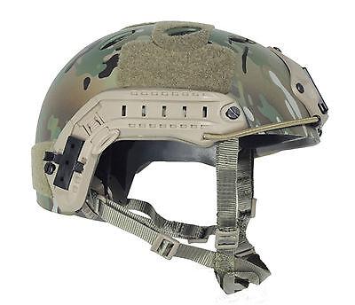 Military Tactical Gun Paintball FMA  FAST Helmet-PJ TYPE  Multicam T466L/XL