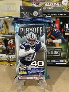 SEALED PANINI PLAYOFF 2020 FAT PACK VALUE CELLO 40 cards 🏈🔥