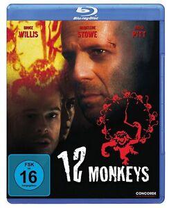 12-Monkeys-Blu-ray-NEU-OVP-Bruce-Willis-Brad-Pitt-von-Terry-Gilliam