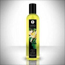 SHUNGA ORGANIC EROTIC MASSAGE KISSABLE OIL ORANICA EXOTIC GREEN TEA 8oz