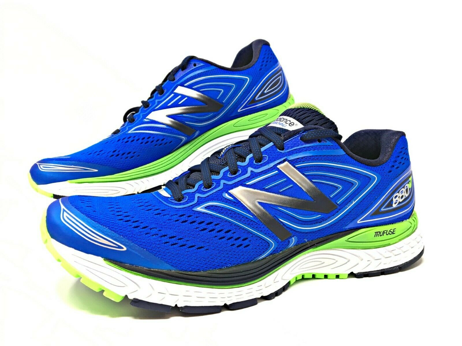 New Balance Men's 880v7 bluee Green Mens Running Running Running shoes Size US 11 Medium (M880BW7) 710667