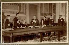 Conciliazione Italia Vaticano Il Duce legge le credenziali WWII PC 1929
