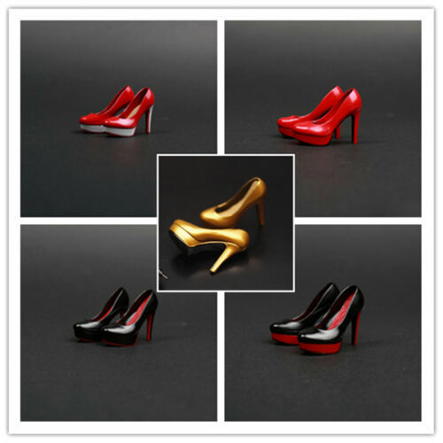 1//6 Female Clothes Accessories shoes increased High Heels suitable Phicen Body