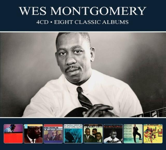 WES MONTGOMERY - 8 CLASSIC ALBUMS 4 CD NEW+
