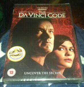 The-Da-Vinci-Code-DVD-Tom-Hanks-BRAND-NEW-AND-SEALED-FREE-UK-POSTAGE