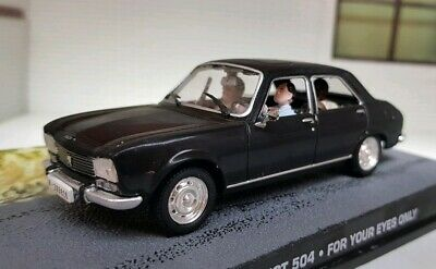 Collector car peugeot 504 sedan 1969 1//43