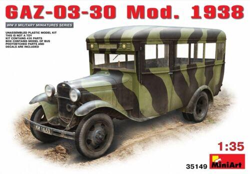 GAZ-03-30 Mod.1938 MIN35149 Miniart 1:35