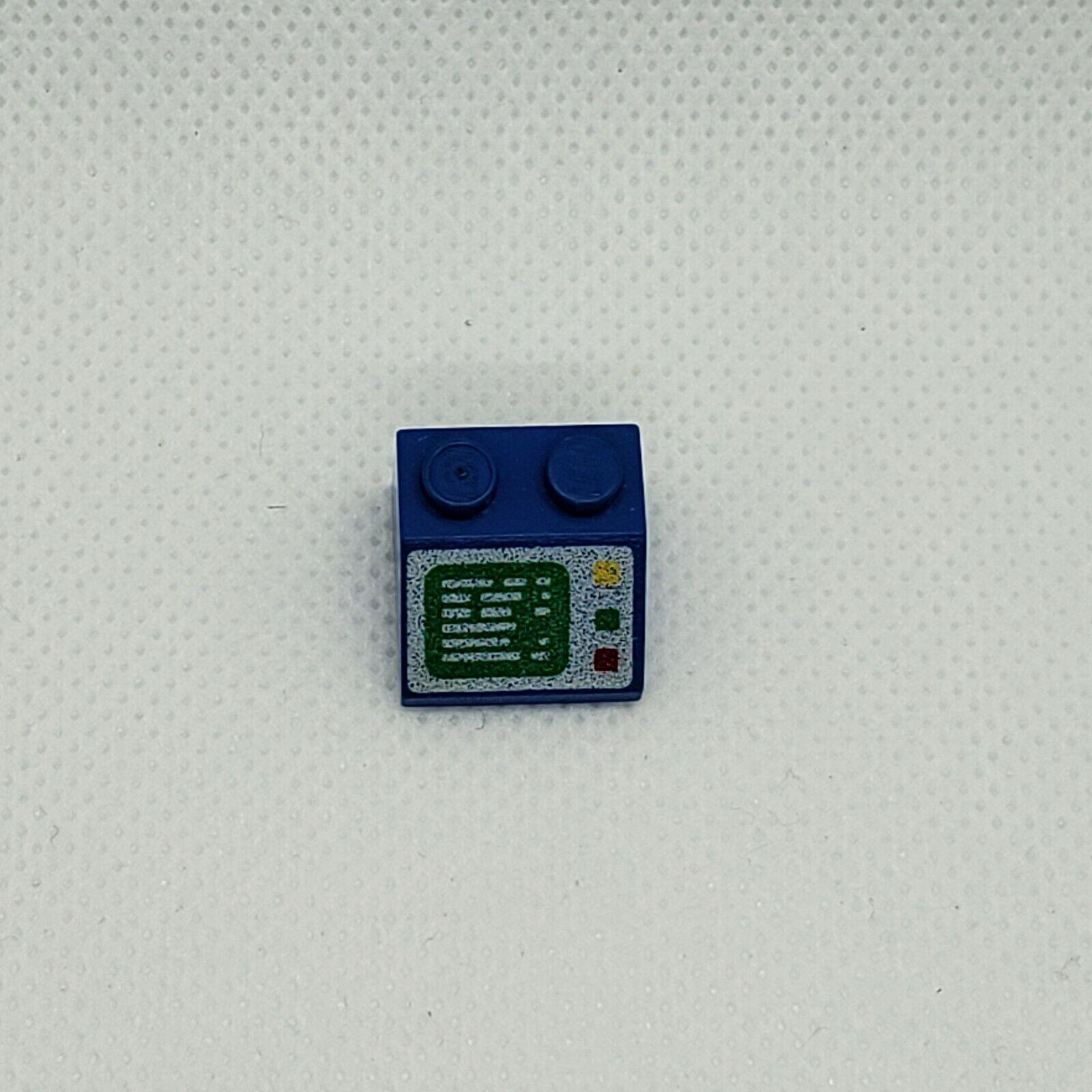 Lego 1x Slope Pente 2x2 Horizon Screen Pattern 3039px2 Black