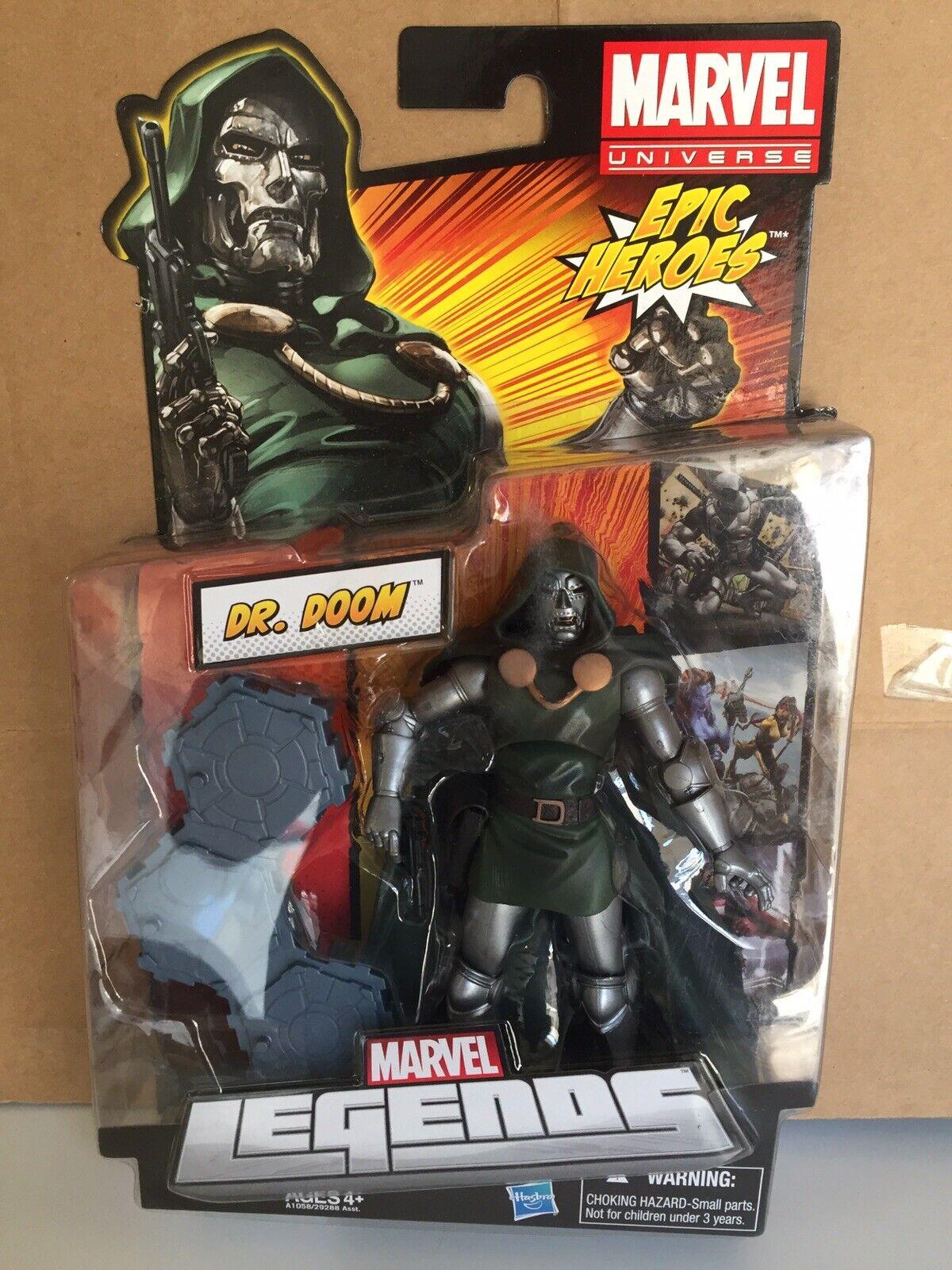 Marvel Legends Epic Heroes Series 3 Dr. Doom nuovo  Sealed Hasbro Doctor Doom  la vostra soddisfazione è il nostro obiettivo