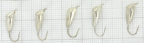 Best quality GALVANIC tungsten ICE JIGS from SHARK,Hook size#10Jig size 4.5 #915