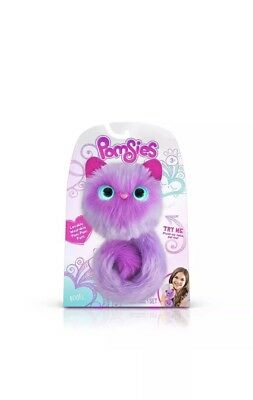 Temperate Pomsies Boots Interactive Pet Light Up Kitty Purple ~ 50 Sounds/reactions Other Interactive Toys