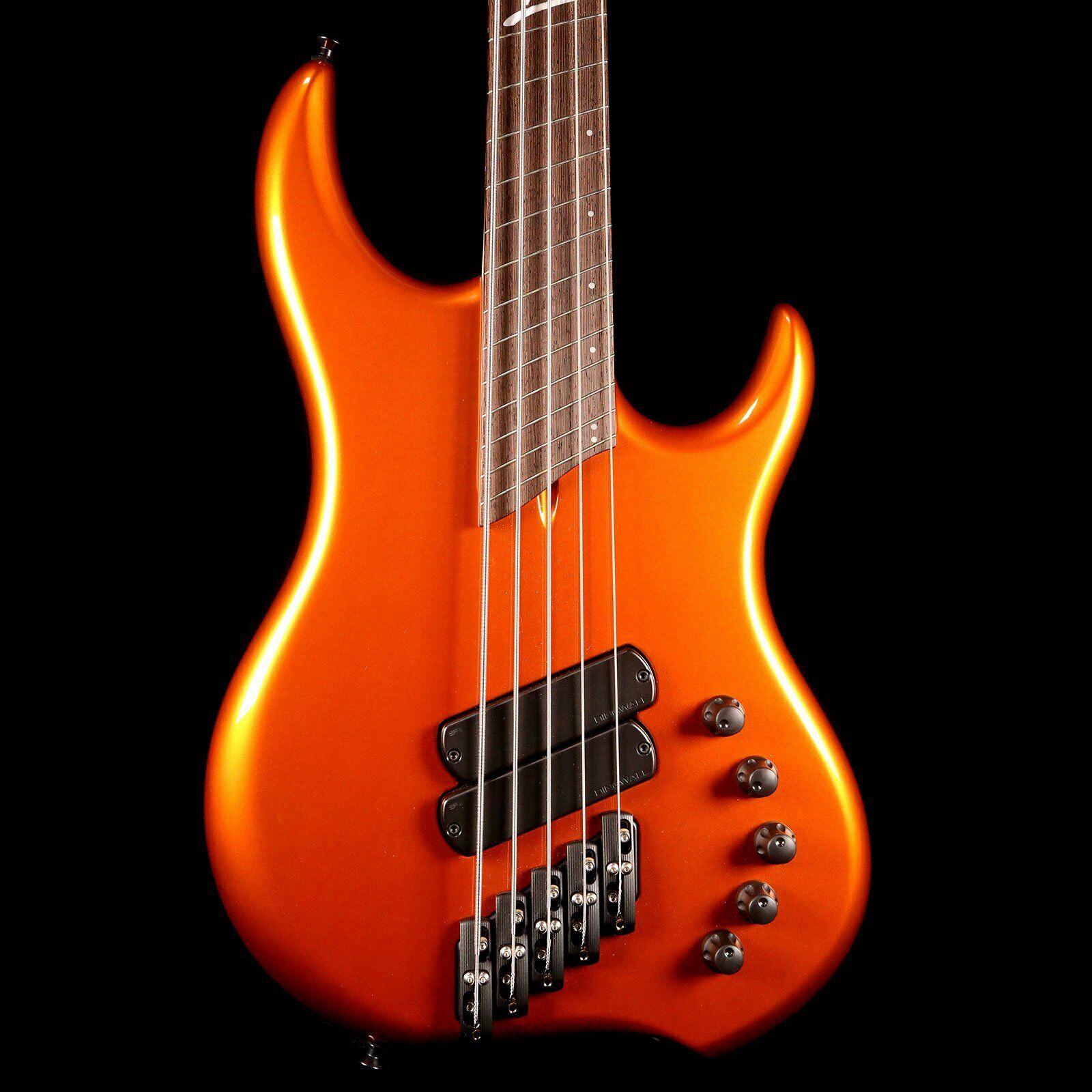 Dingwall Lee Sklar Signature Bass Candy Tangerine