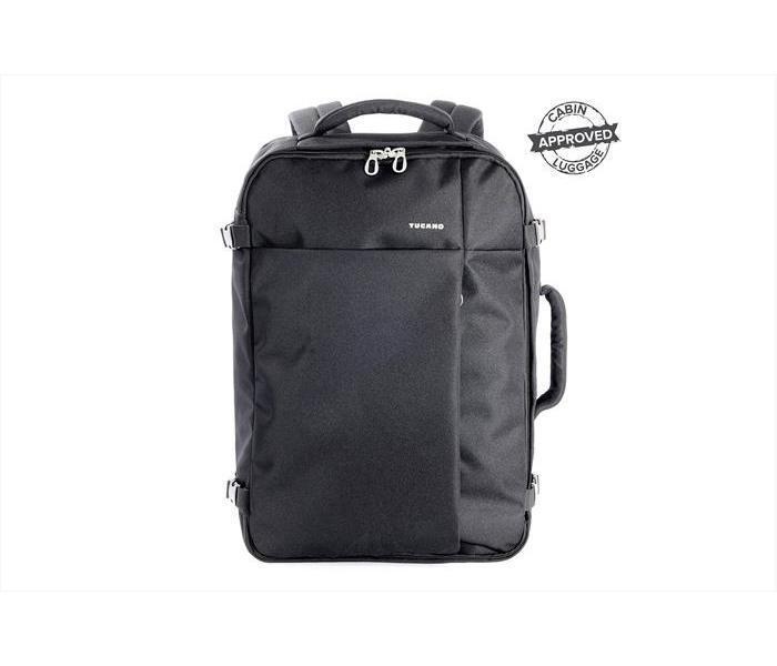 Zaini Porta PC TUCANO - TUGO' - Zaino da viaggio, bagaglio a mano, 38L NERO