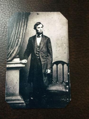 tintype Of President Abraham Lincoln Civil War President C889RP