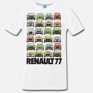T-SHIRT-MAGLIA-AUTO-D-039-EPOCA-RENAULT-AUTO-1977-VINTAGE-ANNI-70-1-S-M-L-XL