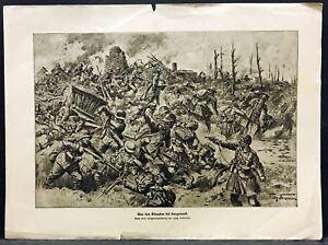 Belgium-Flanders-Langemark-Soldiers-Military-WK1-Art-Print-Neumann-W-4180