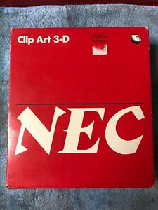 Vintage-Macintosh-Software-NEC-Clip-Art-3-D-huge-package