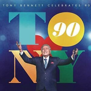 Tony-Bennett-Celebrates-90-New-amp-Sealed-CD