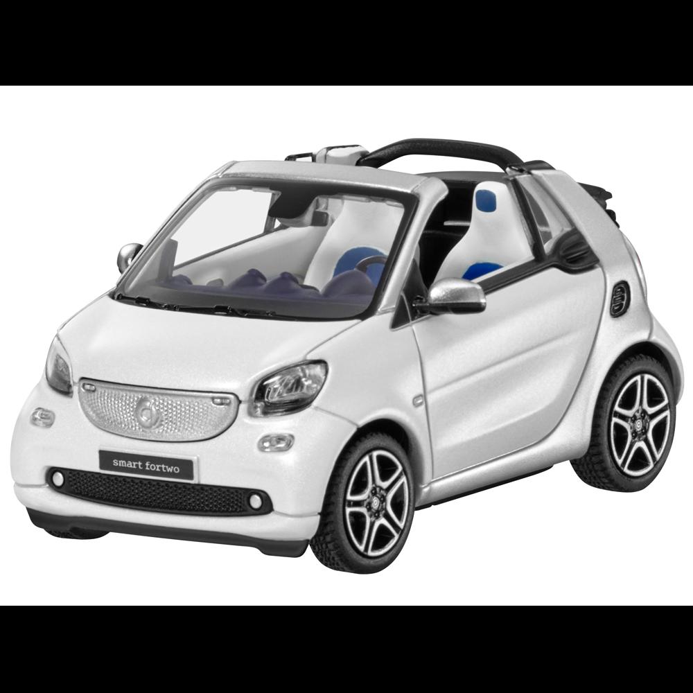 Smart Maquette de Voiture Particulière 1 43 Deux Places Cabriolet A453 Blanc