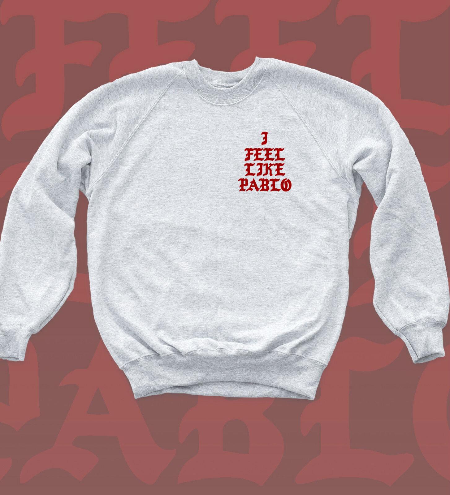 I Feel Like Pablo Sweatshirt Kanye Light Beam Chest Print Jumper Music Bey Top  | Viele Sorten  | Innovation  | Sehen Sie die Welt aus der Perspektive des Kindes  | Abrechnungspreis  | New Style