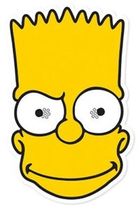 Bart-Simpson-from-The-Simpsons-Single-Card-Face-Mask-Fun-at-Themed-Parties