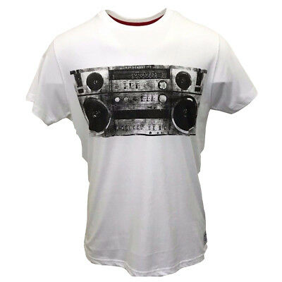 New Mens Supreme Being WHT Boxclever Sound System Collection Tee (Retail £49.00)