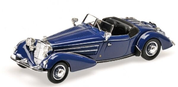 Autresdomaines 855 Special Roadster 1938 Dark bleu 1 43 Model MINICHAMPS