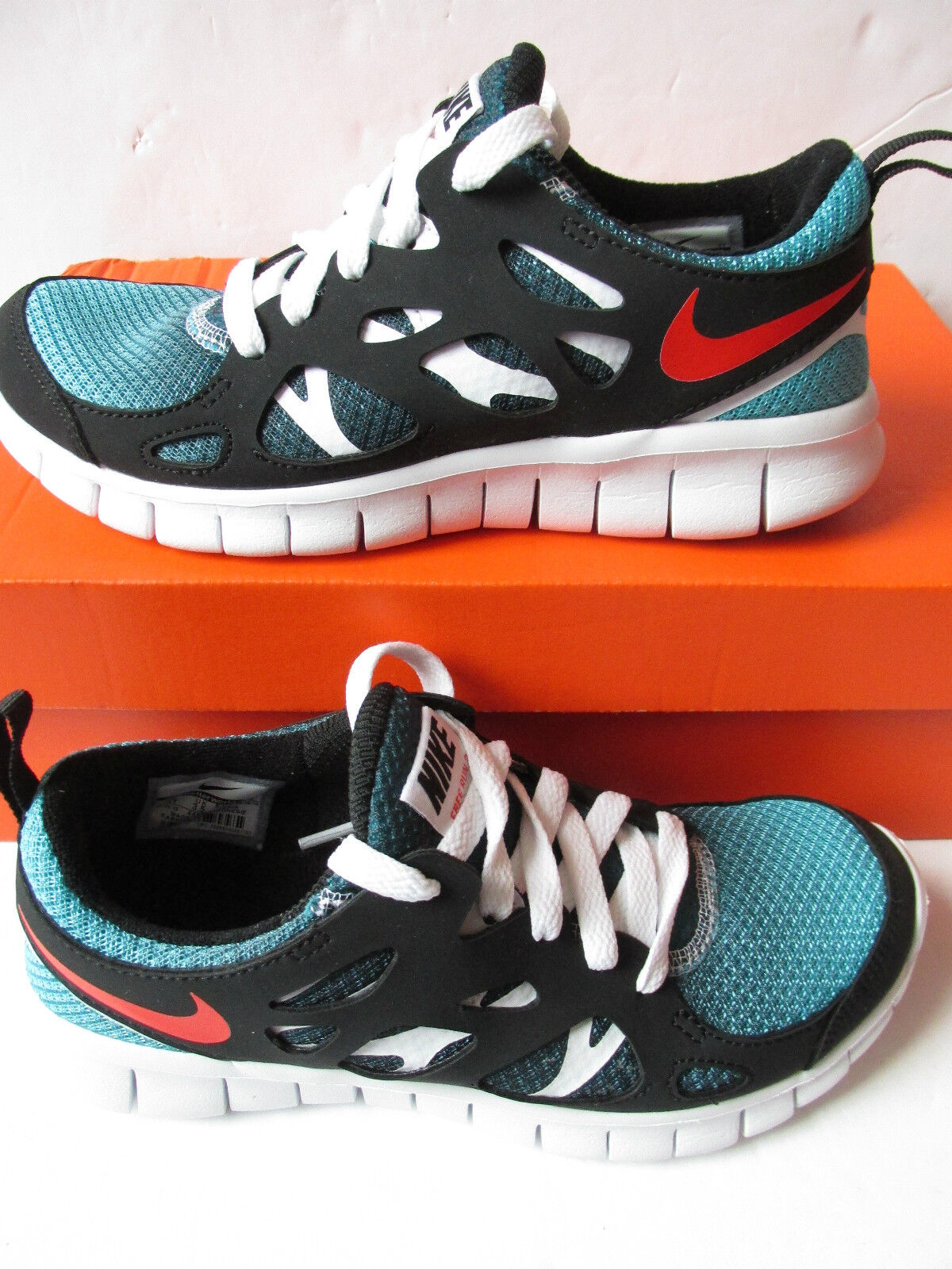 nike free run 2 (GS) running trainers 443742 460 sneakers shoes