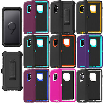 on sale d1680 6305d For Samsung Galaxy S9/S9+Plus Case Cover w/Screen & Clip fit Otterbox  Defender | eBay