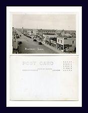 CANADA SASKATCHEWAN ROSETOWN WARD REAL PHOTO POSTCARD MAIN ST NORTH CIRCA 1930