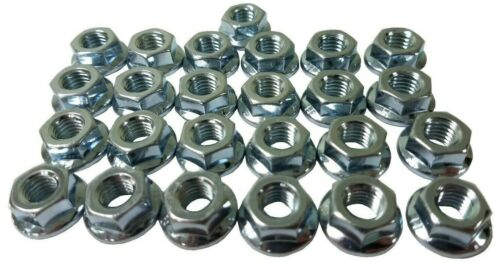Hex Flange Nut 25 Pack M8-1.25 8mm