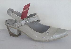 Details zu Mustang Schuhe Damen Schuhe Pumps Art. 1227 901 203, Silber+++NEU+++