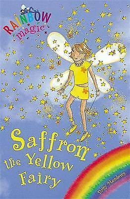1 of 1 - Rainbow Magic, #3  Saffron the Yellow Fairy, By Daisy Meadows, GC~P/B FREE POST