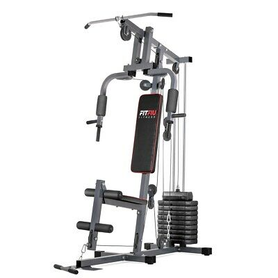 FITFIU - Máquina musculación GYM-100 multiestación con pesas